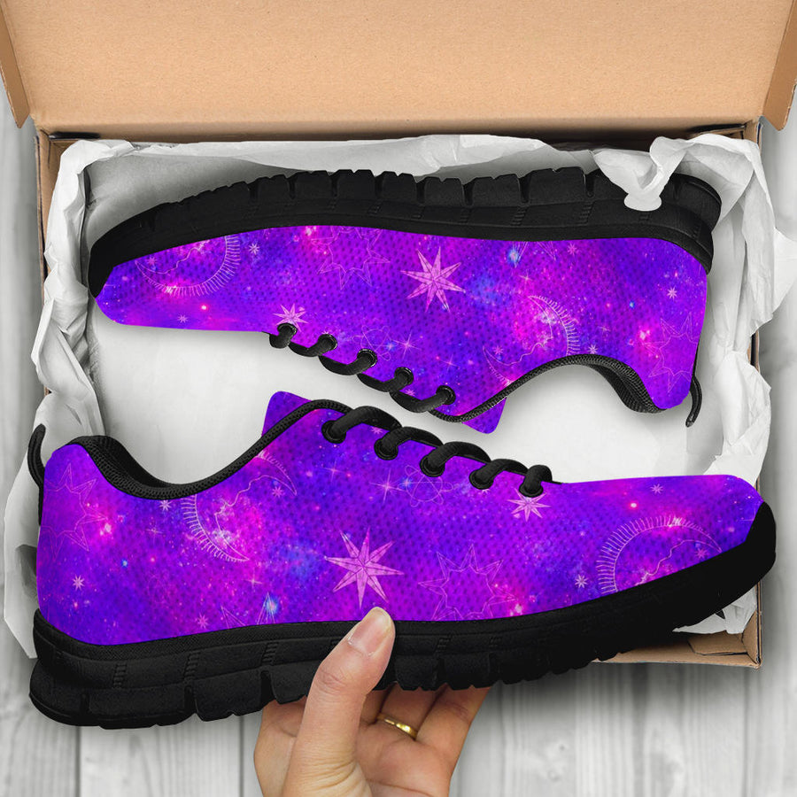 Luna Galaxy Space Sneakers