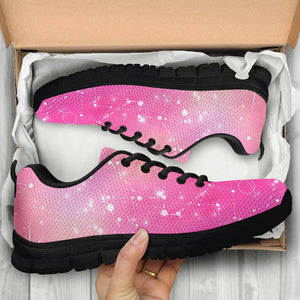 Pink Galaxy Stardust Sneakers