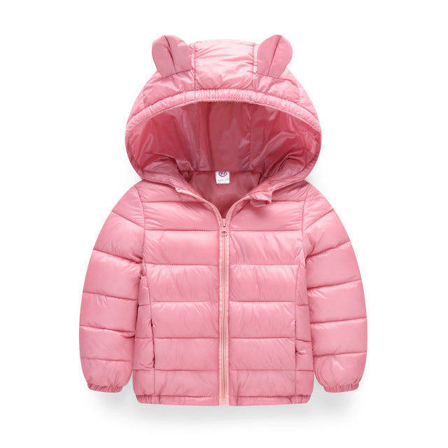 Warm Hooded Outerwear Coat for Babies - Labellabambino