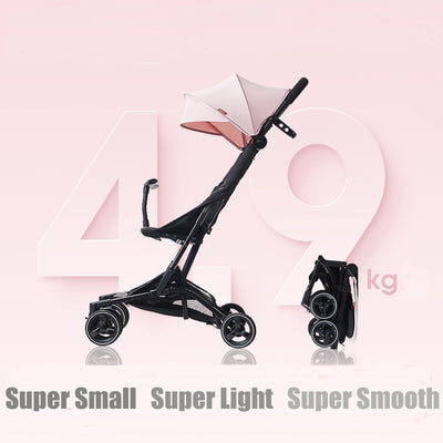 Shock-resistance Four Wheels Stroller - Labellabambino