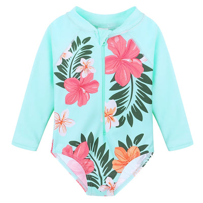 Summer Printed Infant Baby Sun Suit Long Sleeve - Labellabambino