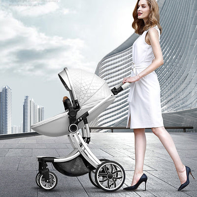 New 2 in 1 Infant Travel Pram - Labellabambino