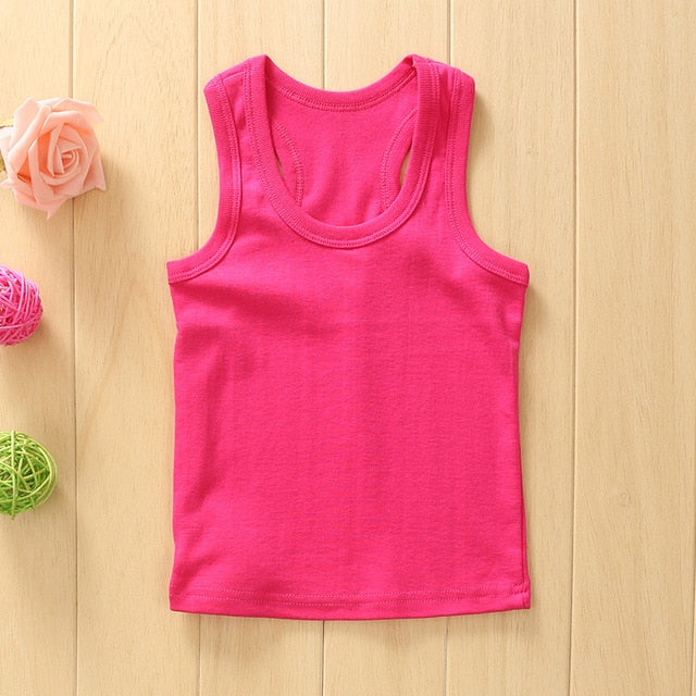 Children Summer Vest Top Outfit - Labellabambino