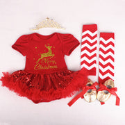 Baby First Christmas - Halloween Tutus Party Costumes 3-6-12-18M - Labellabambino