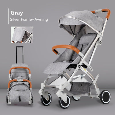 Adjustable Lightweight Luxury Baby Stroller - Labellabambino