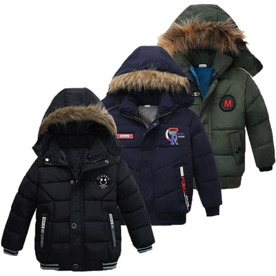 Kids Hooded Warm Outerwear - Labellabambino
