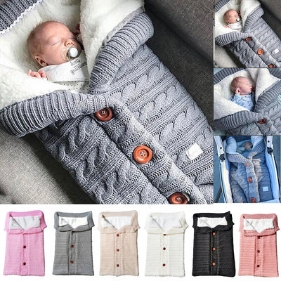 Newborn Baby Winter Warm Sleeping Bags - Labellabambino