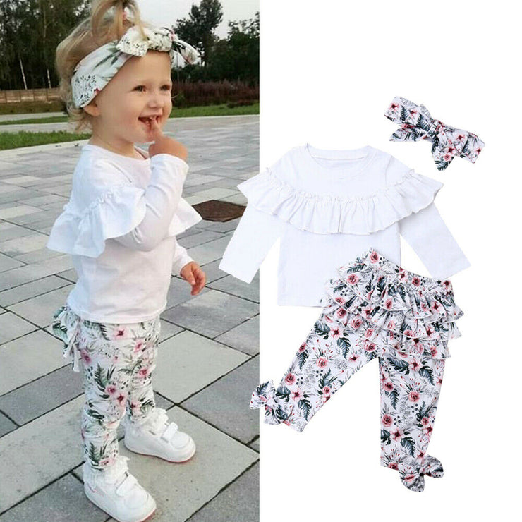 0-5Y Toddler Baby Girls Clothes Set - Labellabambino