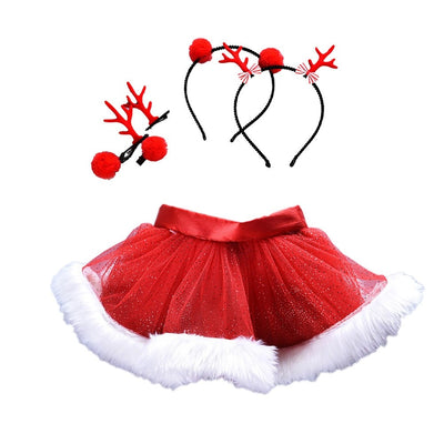 Kids Christmas Tutu Ballet Skirts - Labellabambino