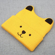 Winter Cartoon Bear Hats For Kids 3D Ears - Labellabambino