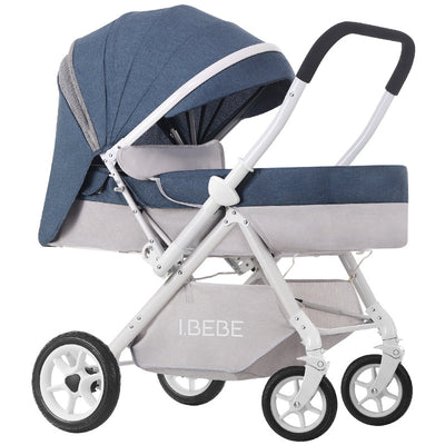 3 in 1 baby stroller 2 way side stroller - Labellabambino