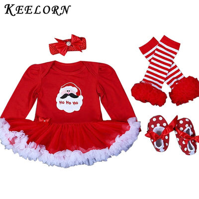 Christmas Party Dress Tutus Romper - Labellabambino