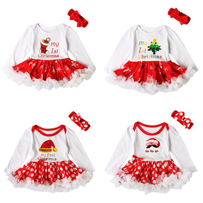 Infant Party Dress Tutus Jumpsuit - Labellabambino