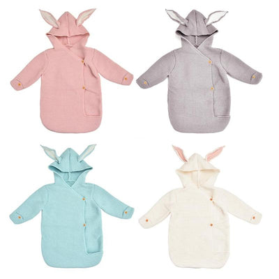Infant Rabbit Ear Sleeping Bag - Labellabambino