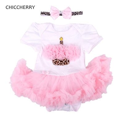 Ruffle Cake Girls Birthday Tutu Sets - Labellabambino