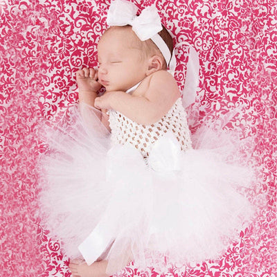 Lovely Baby White Tutu Dress - Labellabambino