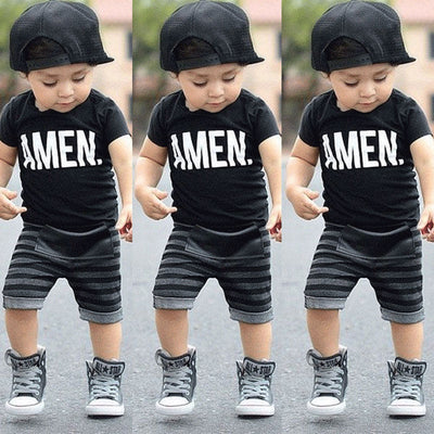 Toddler Kids Boys Summer Clothes - Labellabambino