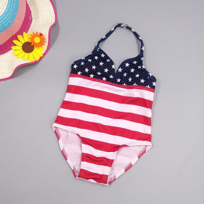 Infant One Pieces Strips Swimming Suit - Labellabambino