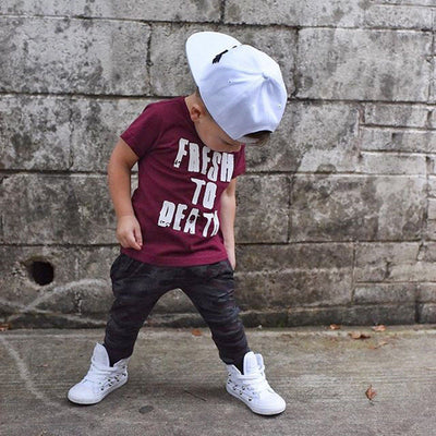 Fashion Toddler Baby Boys Clothes - Labellabambino