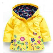 long sleeve coat Girl's warm jacket - Labellabambino