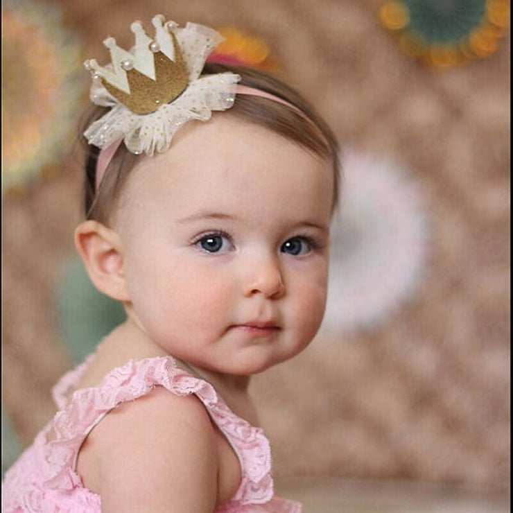 5 Patterns Baby Girls Soft Floral Hairband - Labellabambino