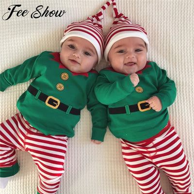 Quality Unisex Baby Christmas Clothes Set - Labellabambino