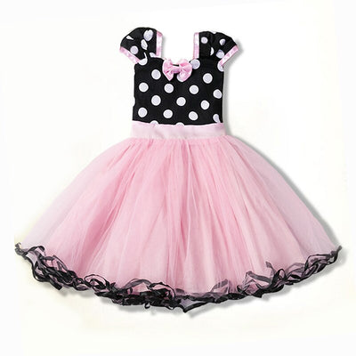 Minnie Tulle Tutus with Dots Dresses - Labellabambino