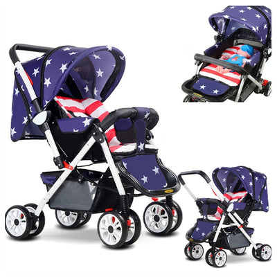 Portable Sit and Lie Baby Umbrella Stroller - Labellabambino