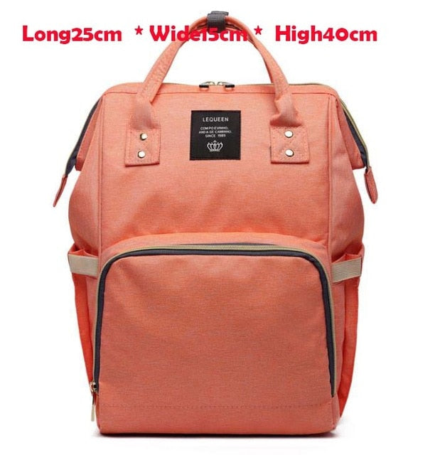 Maternity Large Nappy Travel Backpack - Labellabambino