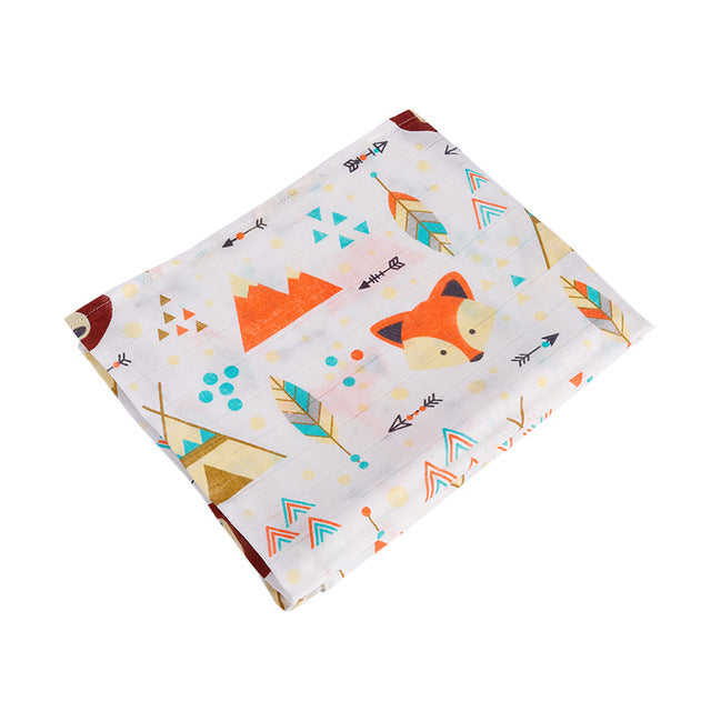 Soft Newborn Bath Baby Swaddles 100% Cotton - Labellabambino