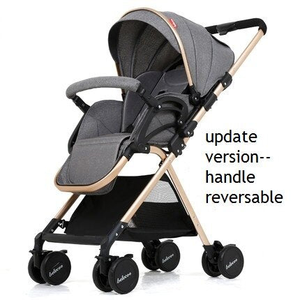 Portable Light Weight Reversible Stroller - Labellabambino
