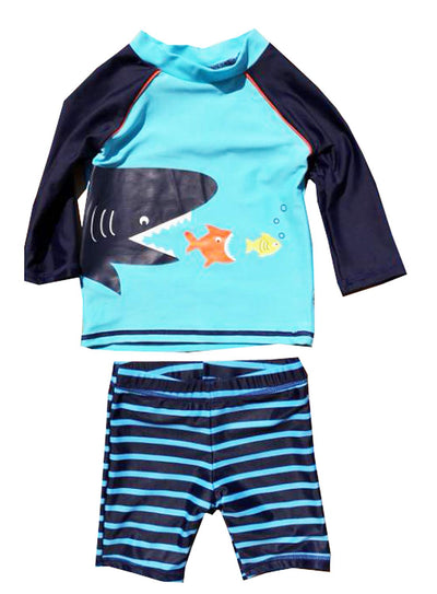 Infant Baby Boys Rash Guard Swimsuit - Labellabambino