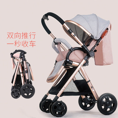Luxury Car Pram Chair Baby Carriage - Labellabambino