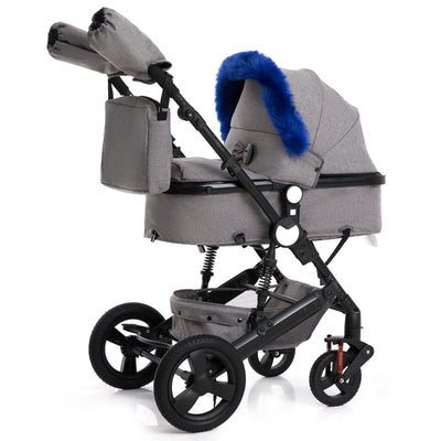 Quality Shock Absorber Baby Trolley - Labellabambino