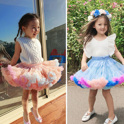 Luxury quality Toddler Girls Tutu Skirts - Labellabambino