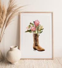 Load image into Gallery viewer, Flower boot Print