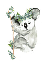 Load image into Gallery viewer, Sleepy Koala  Print
