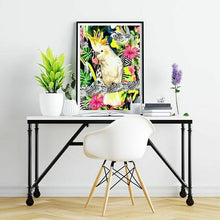 Load image into Gallery viewer, Tropical Cockatoo Print