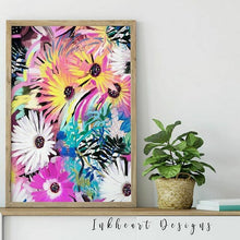 Load image into Gallery viewer, Daisy Print