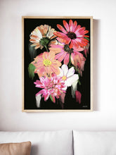 Load image into Gallery viewer, Night Flower Print
