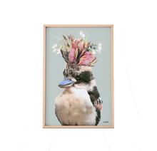 Load image into Gallery viewer, Kookaburra (Green)   Print