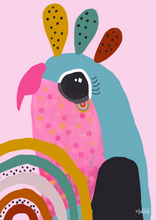 Load image into Gallery viewer, Birdy (Pink ) Print