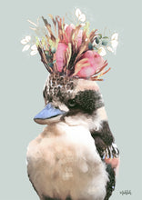 Load image into Gallery viewer, Kookaburra Flower  Art  Print