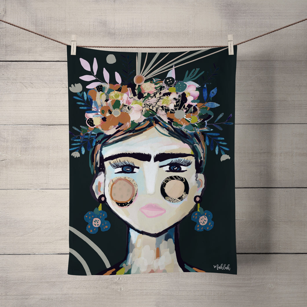 Tea Towel- Frida ( Restock November)
