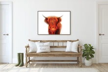 Load image into Gallery viewer, Highlander (Brown) Print