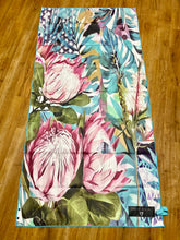 Load image into Gallery viewer, Inkheart Proteas Suede Beach Towel