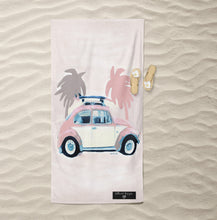Load image into Gallery viewer, Bug Inkheart Sand free Suede Beach Towel