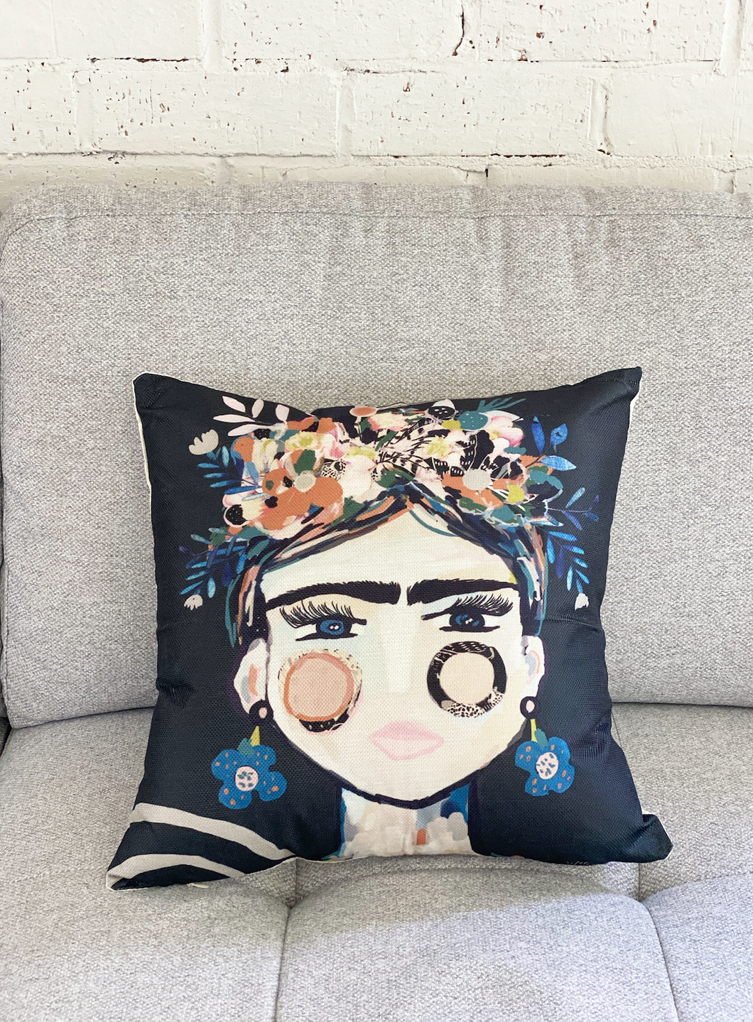 Inkheart Cushion Cover  (Frida la Frida) 44cmx44cm