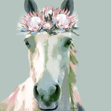 Load image into Gallery viewer, Flower horse  Print