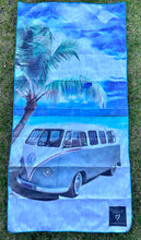 Load image into Gallery viewer, Kombi beach Inkheart sand free Suede Beach Towel